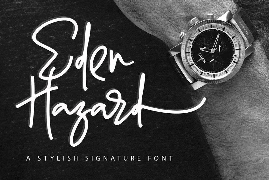 Eden Hazard - A Stylish Signature