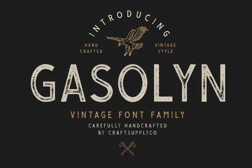 Gasolyn Font Family