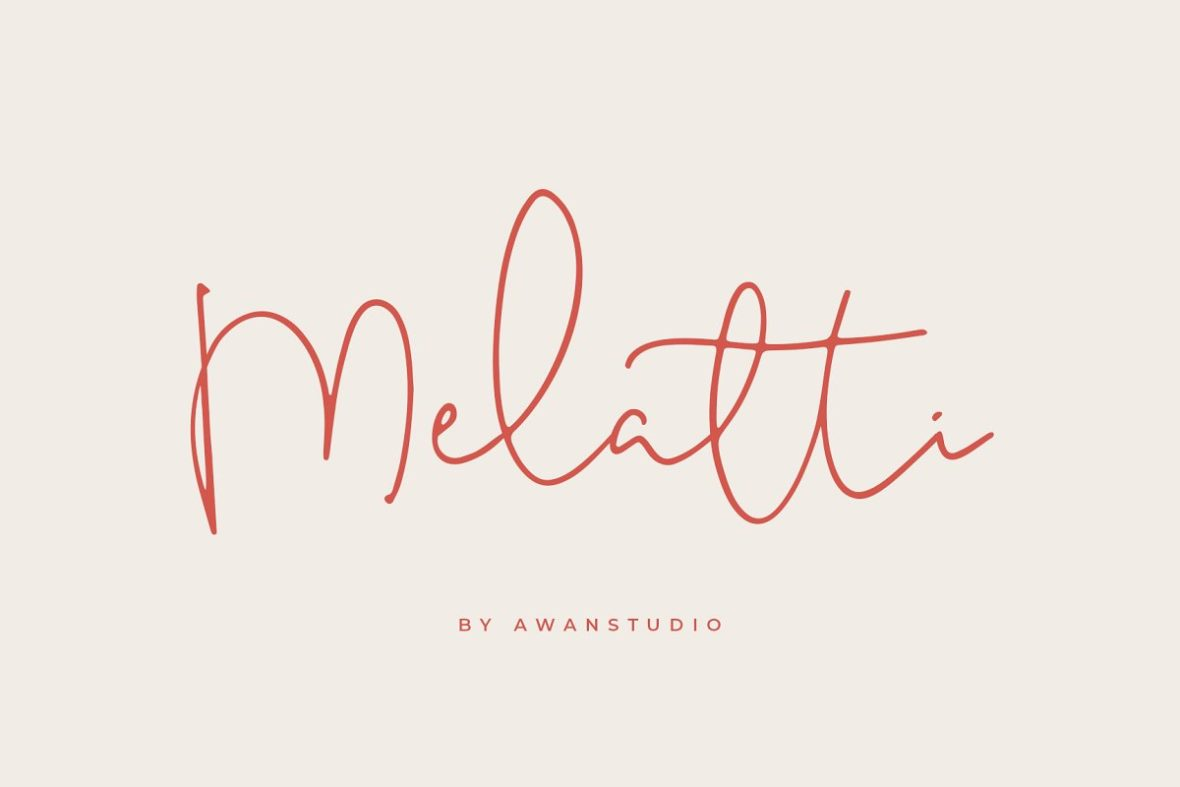 Melatti Font