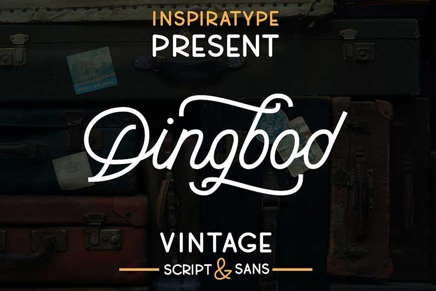 Dingbod - Sript and Sans