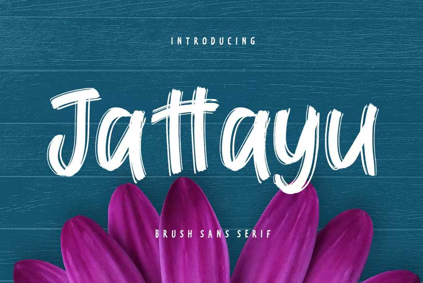 Jattayu Sans Serif Brush