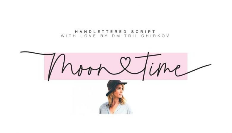 Moontime font free download