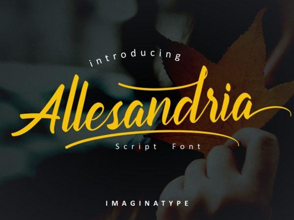 Allesandria Font