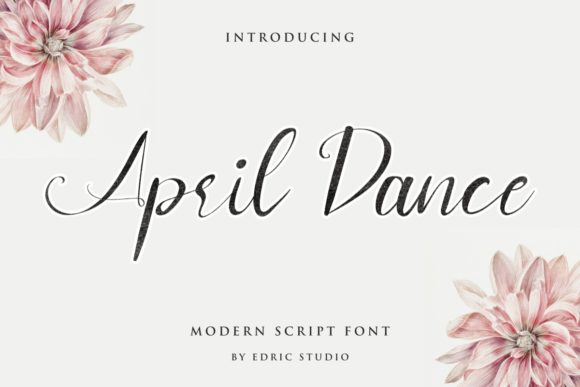April Dance Font