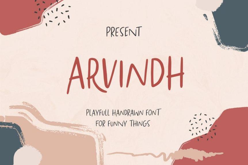 Arvindh Font