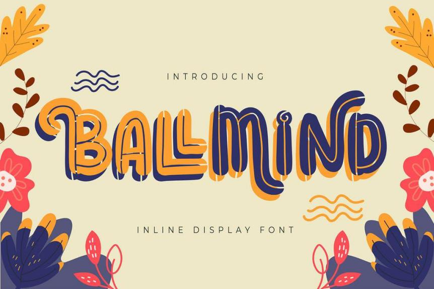 Ballmind Display Font