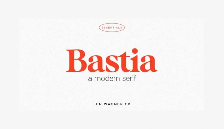 Bastia – A Modern Serif