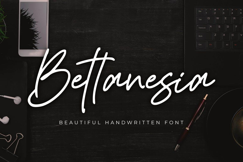 Bettanesia - Beautiful Handwritten