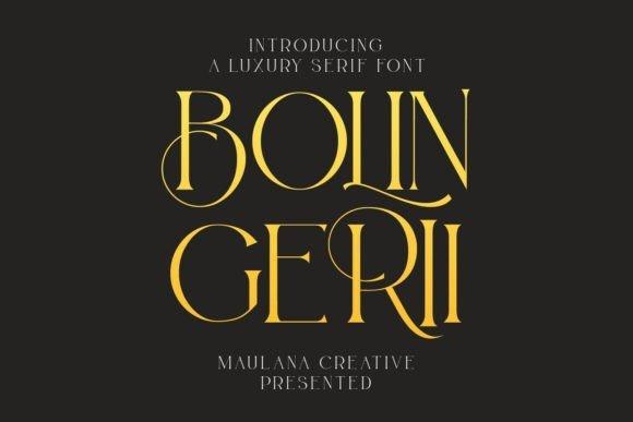 Bolin Gerii Font