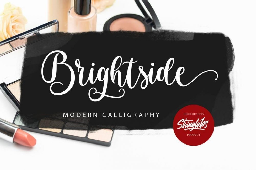 Brightside - Modern Calligraphy Font