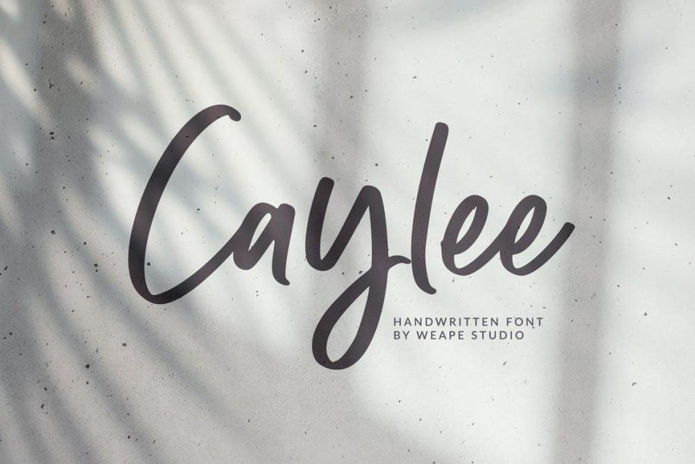 Caylee Script Font
