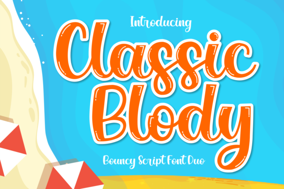 Classic Blody Font
