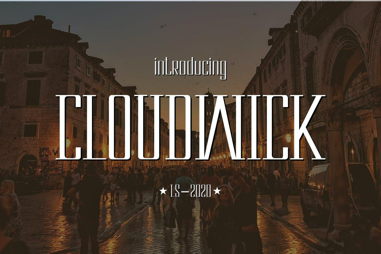 Cloudwick Font