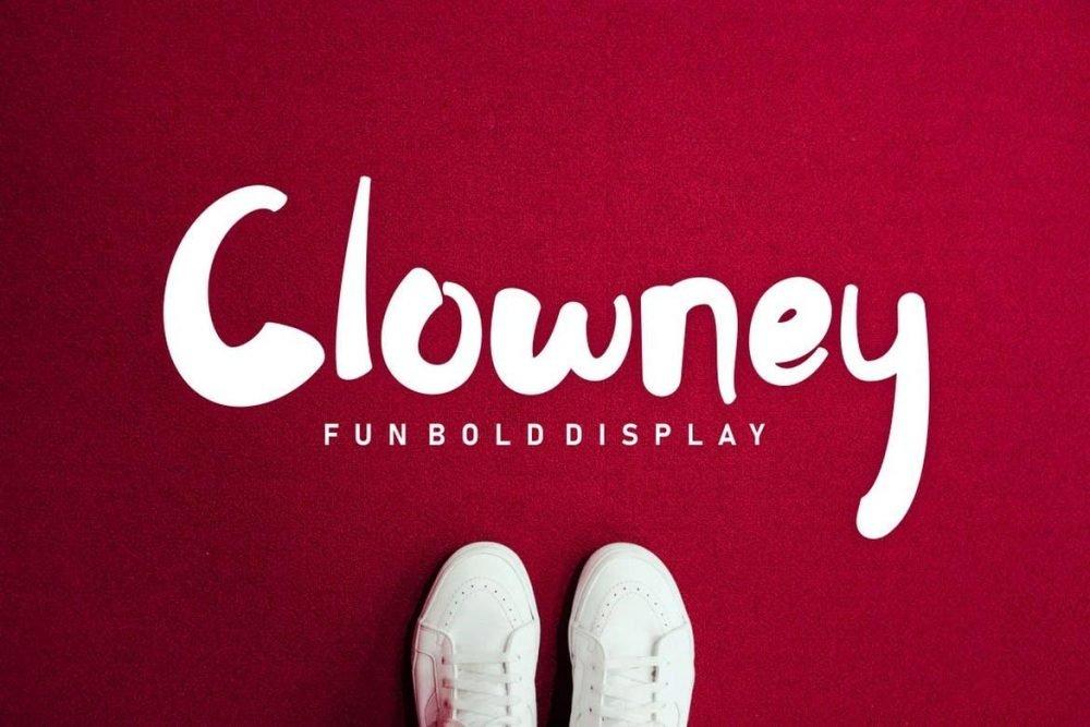Clowney - Fun Bold Display