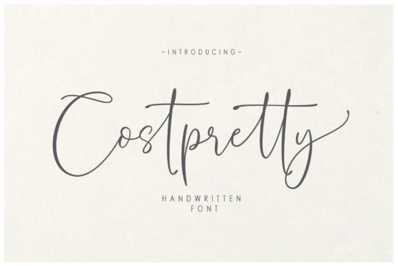 Costpretty Font