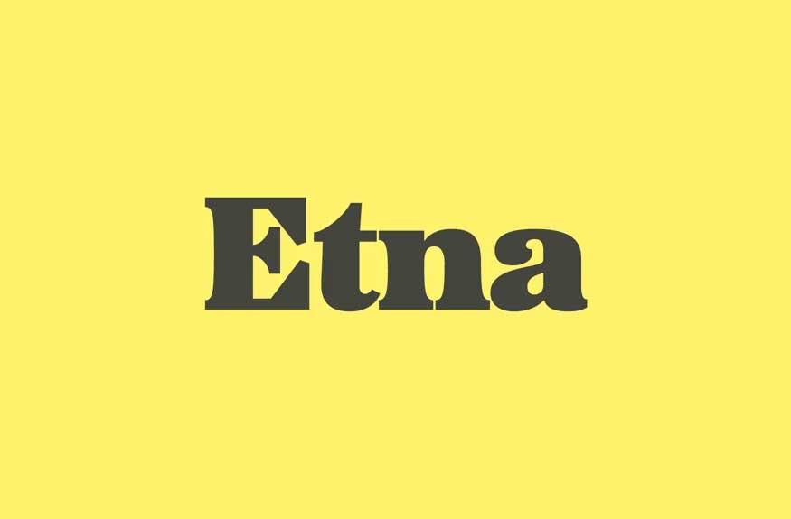 Etna Font Family