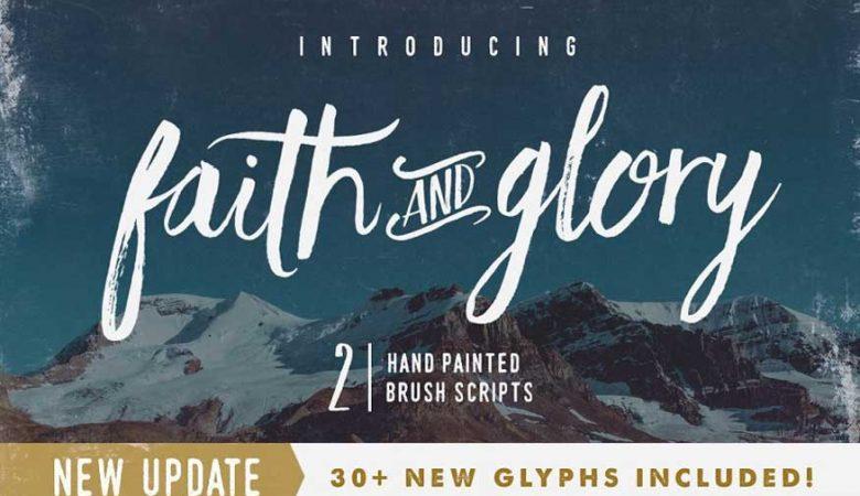 Faith and Glory Font