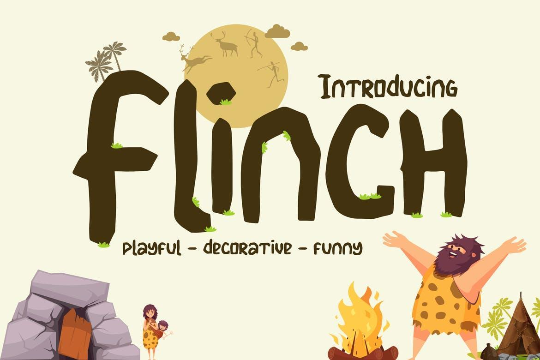 Flinch Font
