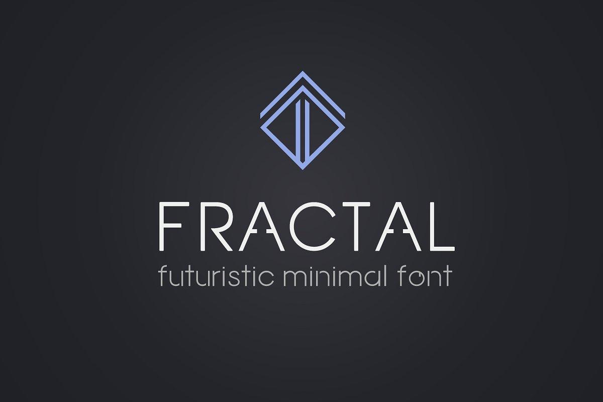 Fractal Font