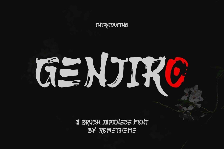 Genjiro Font