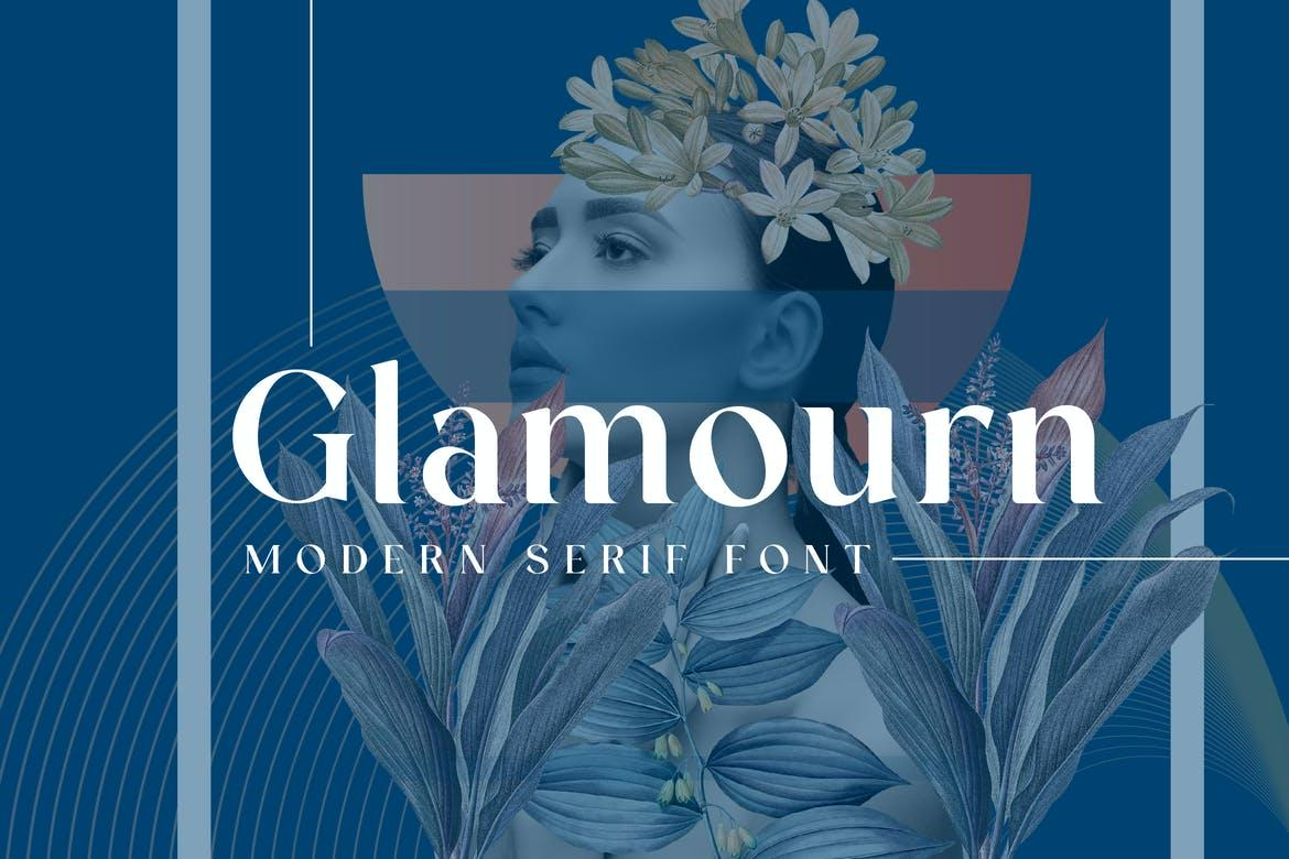 Glamourn Display Font
