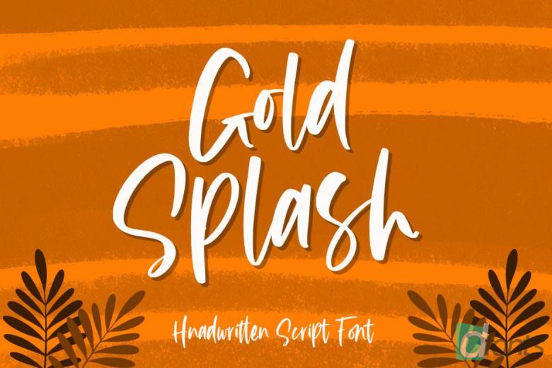Good Splash Font