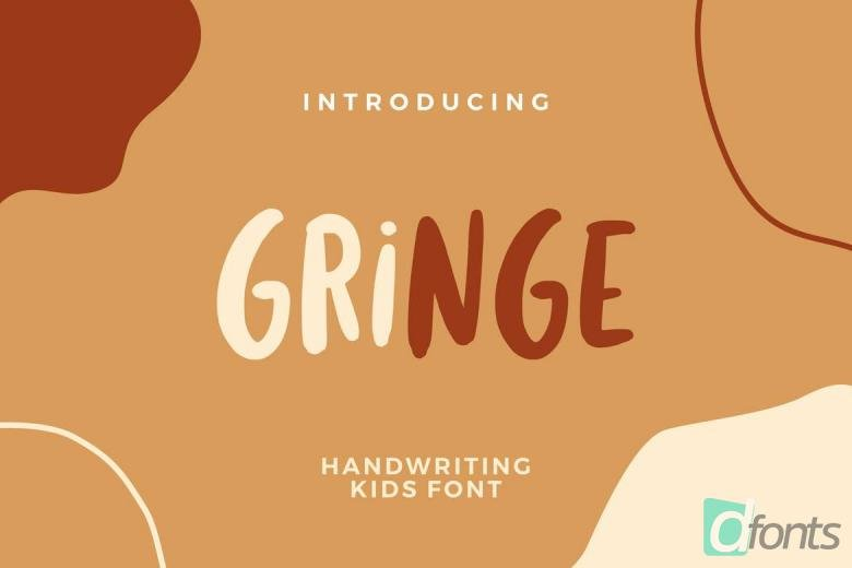 Gringe Handwriting Font