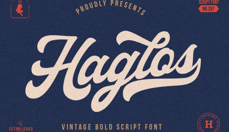 Haglos Bold Script