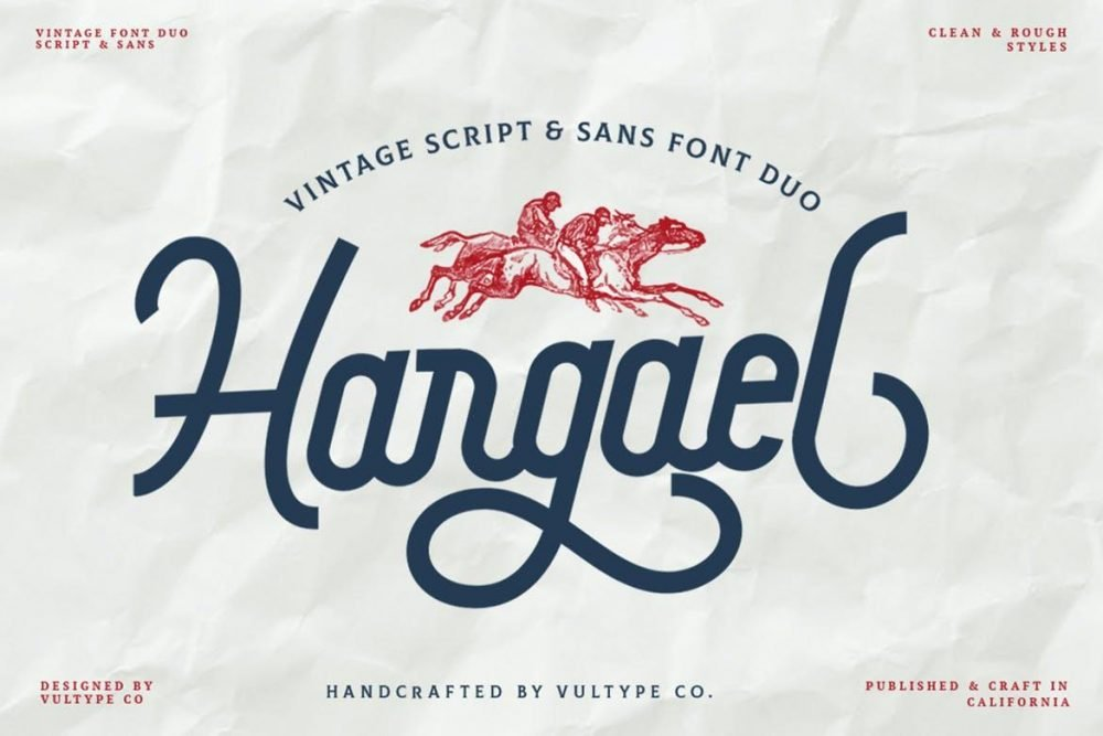 Hargel Vintage Font
