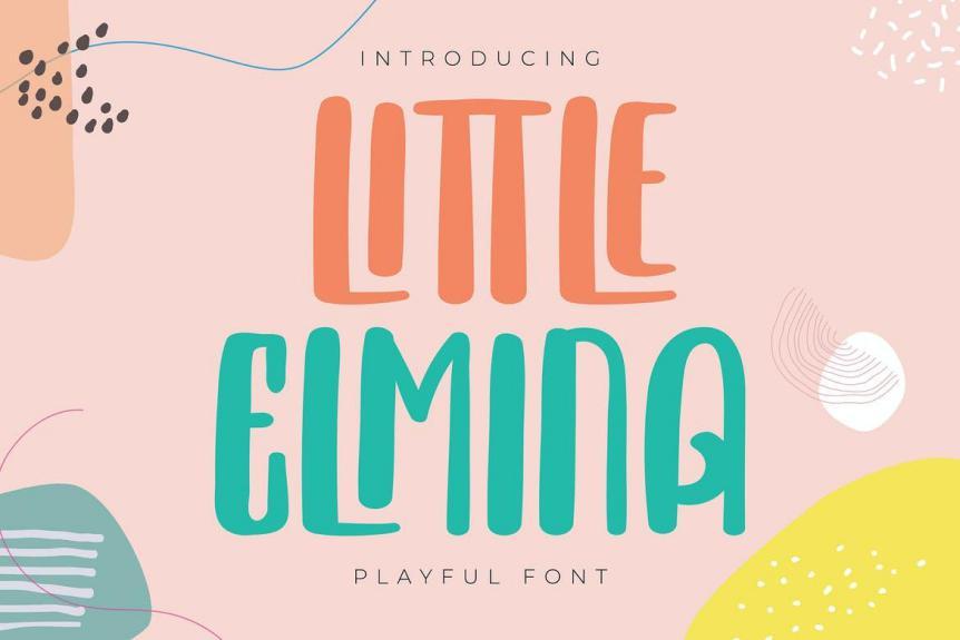 Little Elmina Font