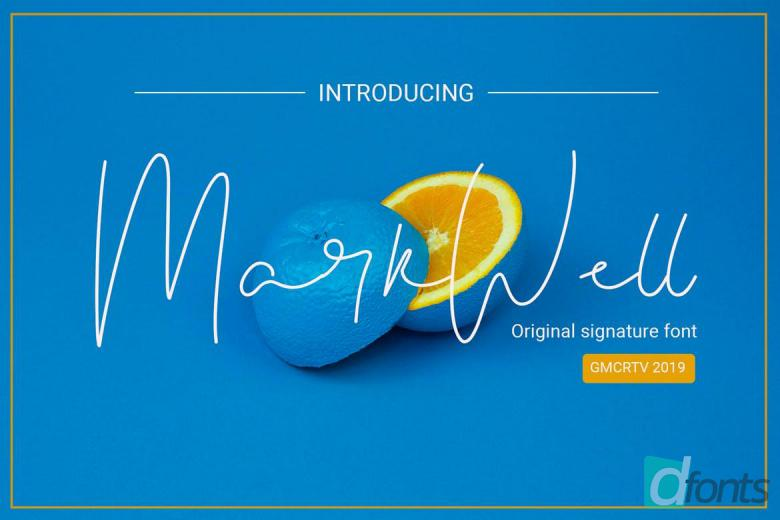 Markwell Font