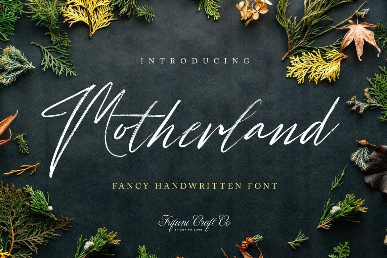 Motherland Font