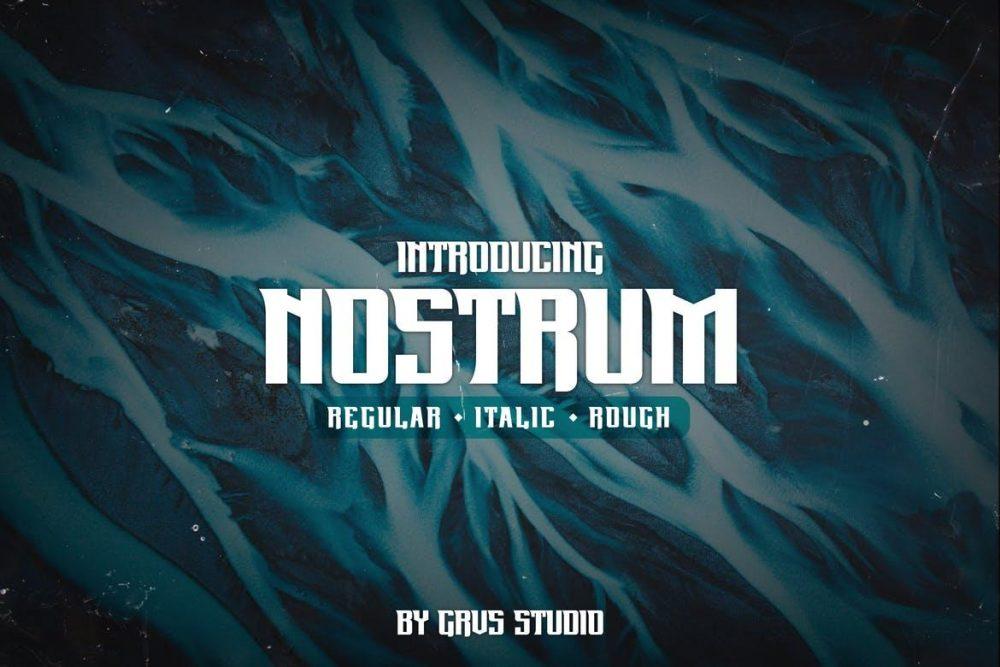 Nostrum Font
