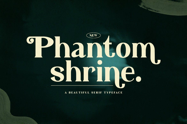 Phantom Shrine - Beautiful Serif Font