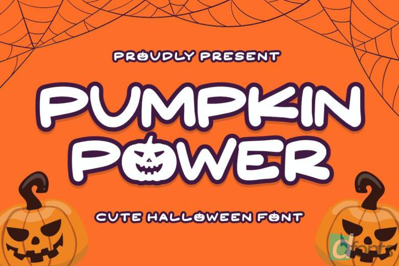 Pumpkin Power Font