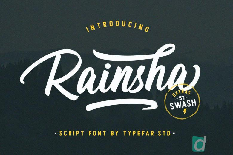 Rainsha Font