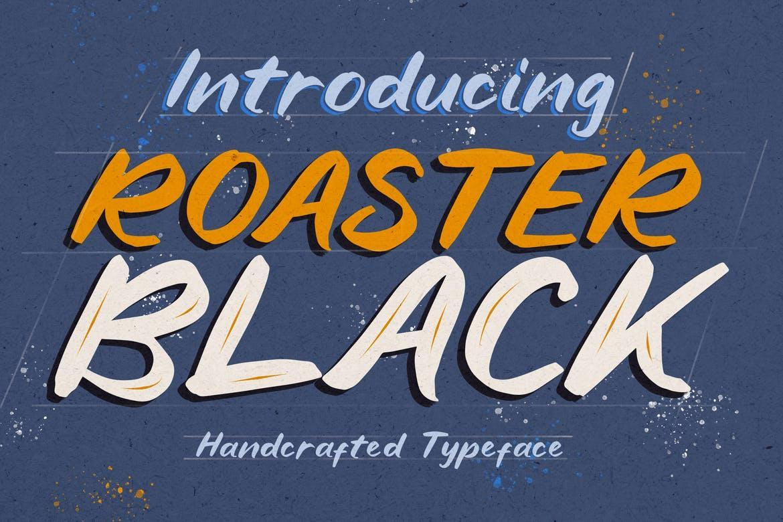 Roaster Black Font