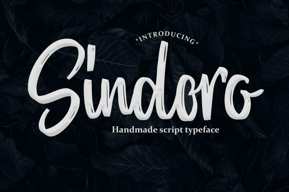 Sindoro - Handmade Script