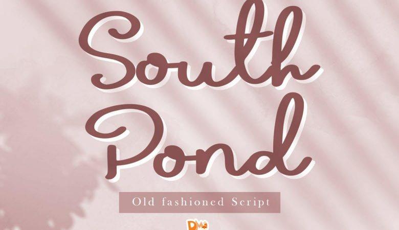 South Pond - Old Script Font