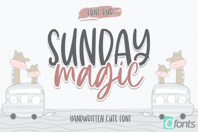Sunday Magic Font
