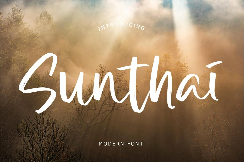 Sunthai Modern Font