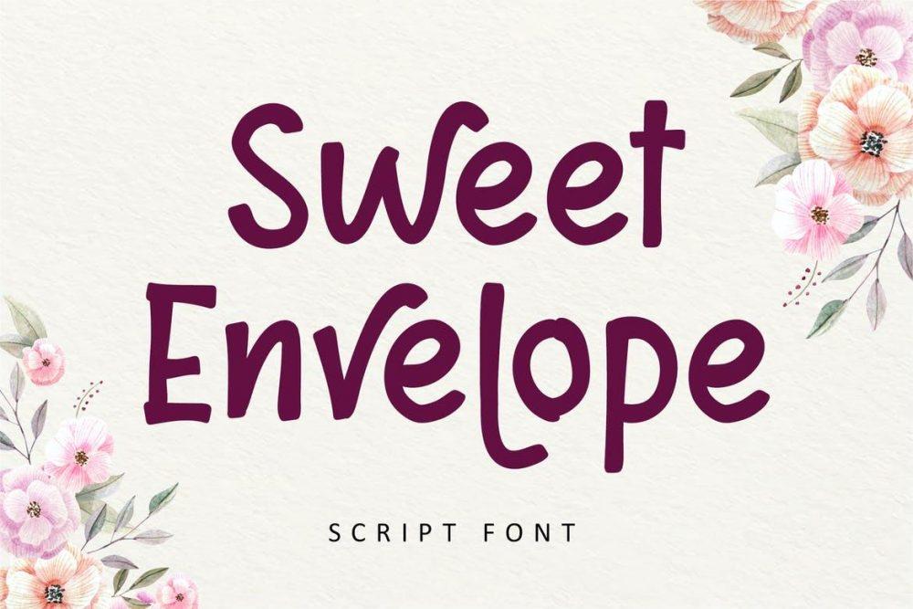 Sweet Envelope Font