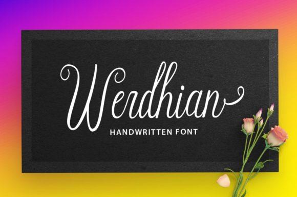 Werdhian Font