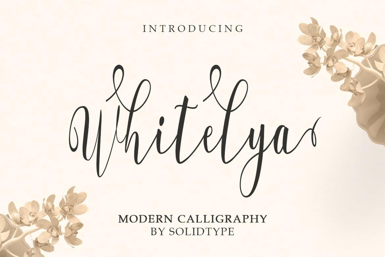 Whitelya Script Font