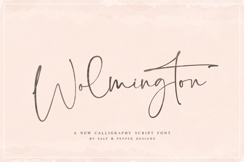 Wolmington Font