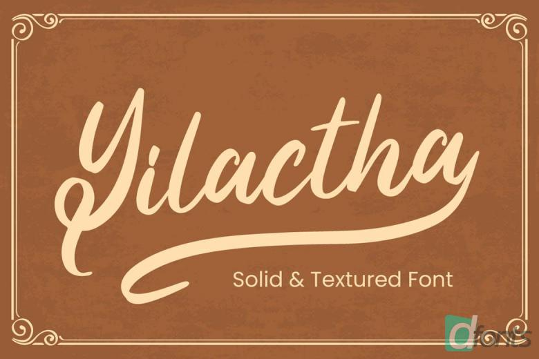 Yilactha - Script Font