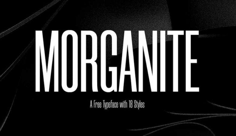 Morganite Font Family Free