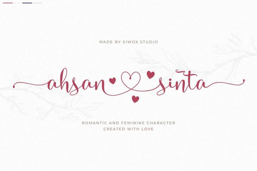 Ahsan Sinta - Lovely Fonts