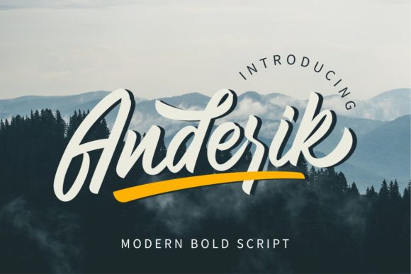 Anderik Font