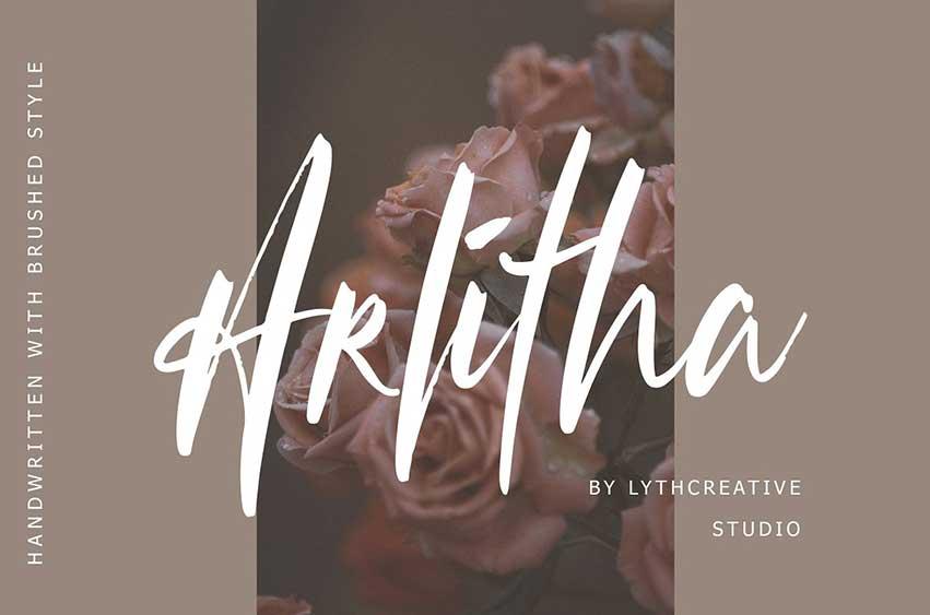 Arlitha Brushed Font